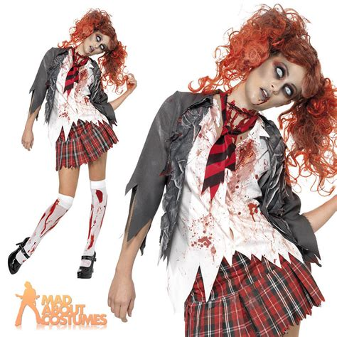tutorial zombie costume zombie school girl makeup kids vizitmir com