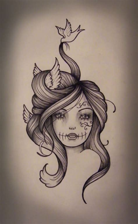 hair tattoo art design 17 best ideas about tattoos on
