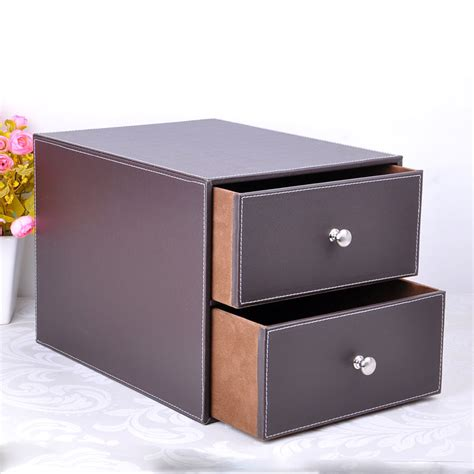 layer drawer wood structure leather desk