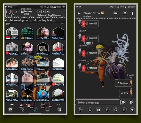 modded apk for android bbm mod versi 3 3 1 24 android apk sellophone