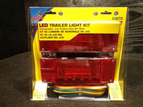 led boat trailer lights over 80 sell valley submersible boat trailer led light kit over 80