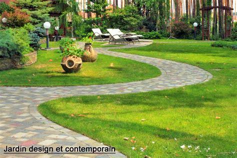 Zen Design Concept Jardin Design Zen Japonais Moderne Un Jardin Pas