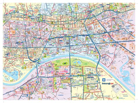 Karet List U mega karta zagreba u 13 segmenata uz jutarnji list