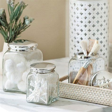 bathroom glass canisters 5 steps in decorating glass jar lid decozilla