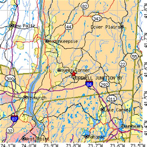 hopewell junction, new york (ny) ~ population data, races