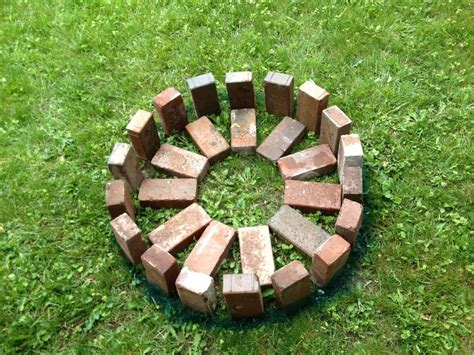 Step By Step Build Your Own Pit The Garden Hose How To Build Your Own Pit Outdoor Decorations
