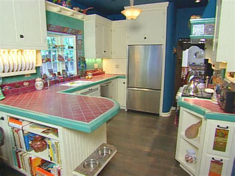 red eclectic kitchen photos hgtv kitchen ideas design with cabinets islands