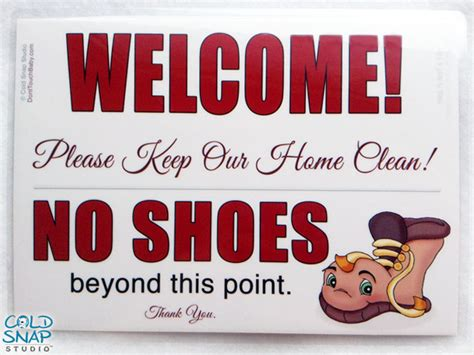 no shoes in the house sign printable remove your shoes sign take off your shoes home door sign brown boot