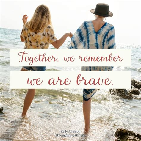 being brave together mrs disciple