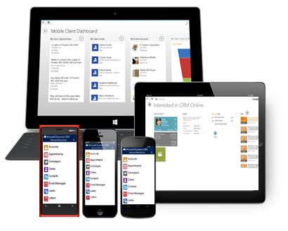 mobile crm | microsoft dynamics crm | ireland and northern