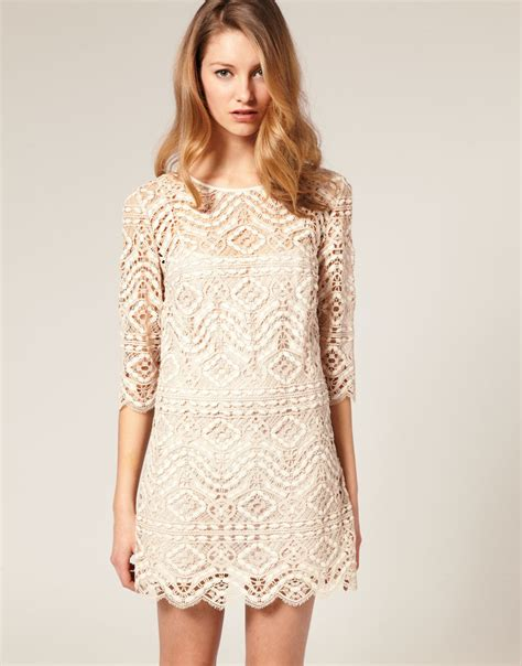 Lace Dress by A Matter Of Style Diy Fashion Diy Idea Lace Dresses