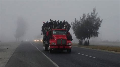 central american migrants die  mexico truck
