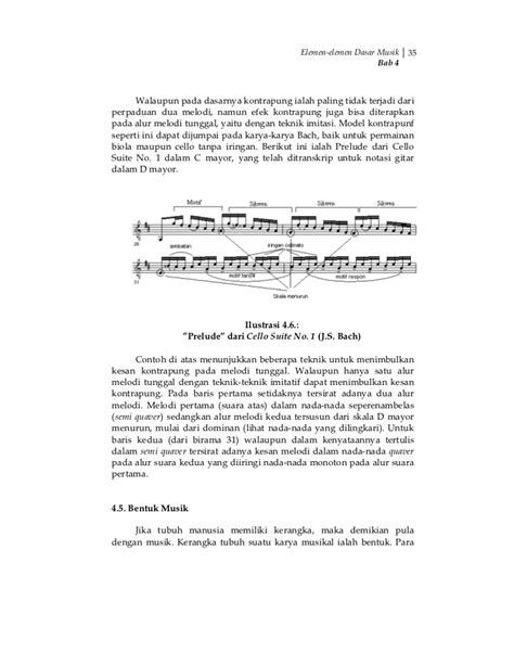 Buku Biola Bach 6 Suites For Cello seni musik klasik smk mak kelas10 muttaqin dkk