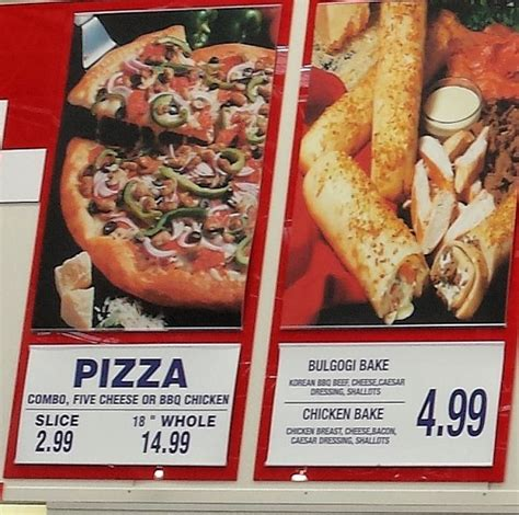 costco food review gallery costco pizza prices and sizes gallery photos designates