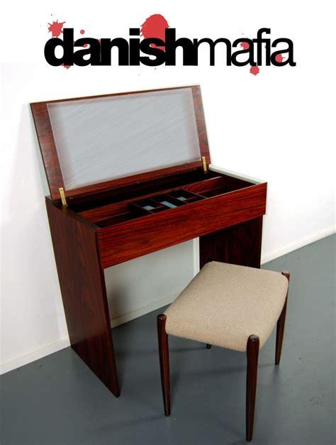 modern vanity desk mid century modern rosewood dresser vanity desk mafia