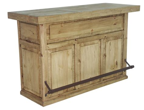 honey rustic home bar solid wood cave western