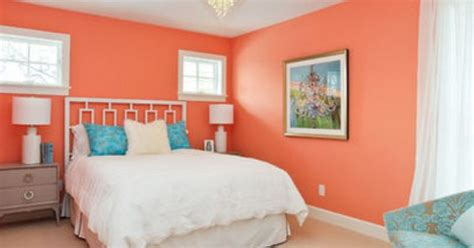 peach and aqua bedroom blue and peach colors opposites attract bedroom ideas
