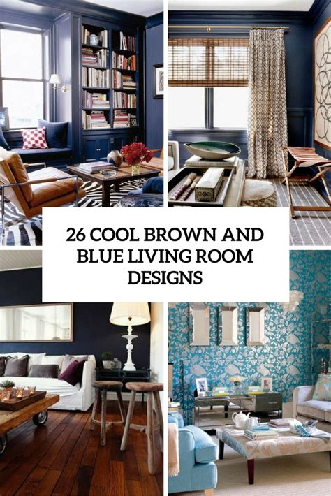 Blue And Brown Living Room Decor Smileydot Us | brown and blue living room decor smileydot us