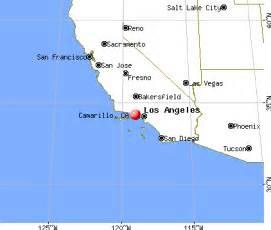 where is camarillo california on a map camarillo california ca 93010 93012 profile