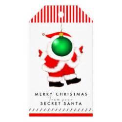 secret santa label template secret santa poem gifts on zazzle