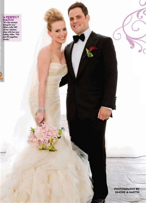 Celebrity Wedding  Hilary Duff ~ Wedding Bells