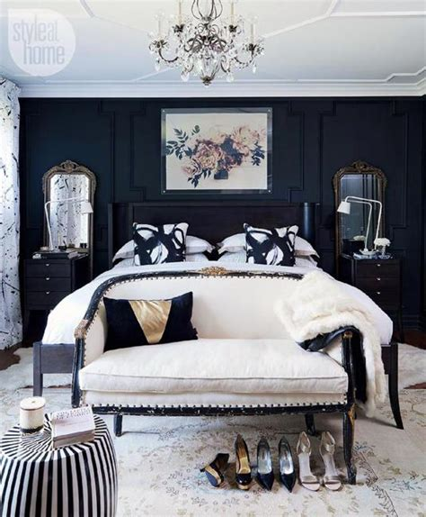black and white decor for bedroom 18 stunning black and white bedroom designs