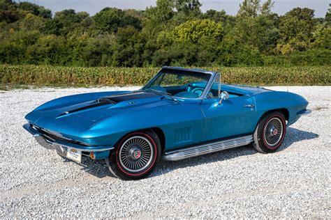 vintage corvette blue image gallery 1967 blue corvette