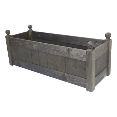 Trough Planter Liners by 34 Clarence Classic Oak Planter Trough With Plastic Liner