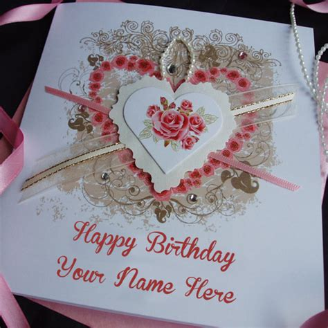 Write Name On Birthday Card Special Wife Name Writing Lovely Birthday Wishes Card Pix