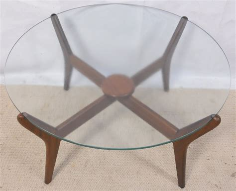 Round Glass Top 1960 S Retro Coffee Table Sold Retro Glass Top Coffee Table
