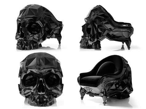Harold Sangouard Skull Chair Price by Geometric Skull Chair By Artist Harold Sangouard