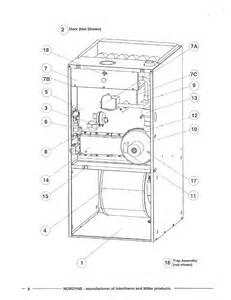 nordyne gas furnace parts diagram circuit diagram free