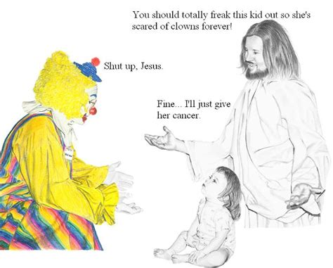 Jesus Is A Jerk Meme - jerk jesus clown jesus is a jerk know your meme