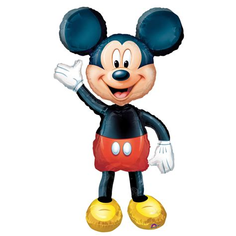 Balon Foil Disney Mickeymouse 52 quot disney minnie mickey mouse airwalker foil helium balloon size ebay