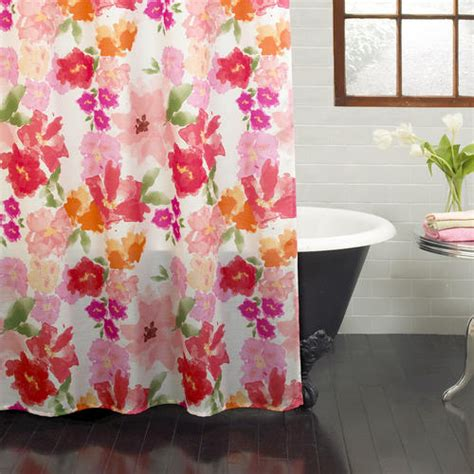 menards shower curtains excell posie shower curtain at menards 174