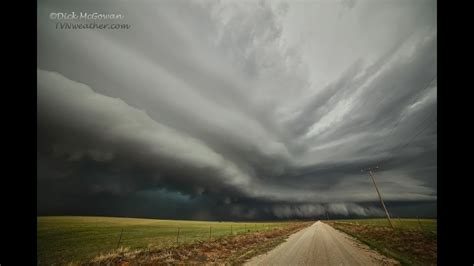 Jaw Dropping Structure On Mothership Supercell Storm