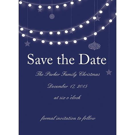 save the date christmas party templates invitation template