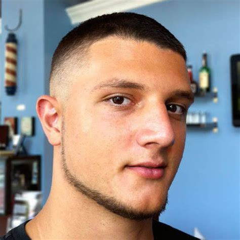 pictures of men s buzzcut haircuts for low maintenance