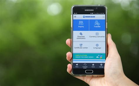 Mobile banking apps now cater for non Koreans : Korea.net : The official website of the Republic