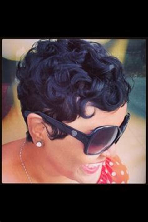 how to do pin curls on black women s hair adult hairstyles on pinterest short cuts short