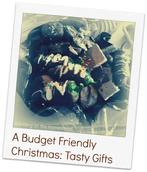 christmas on a budget tasty gifts big family minimalist
