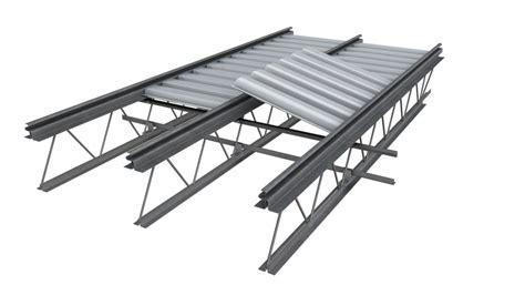Système de plancher composite Hambro   Canam bâtiments