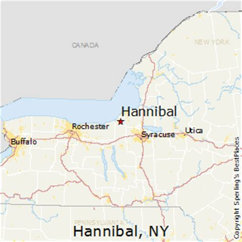 best places to live in hannibal, new york
