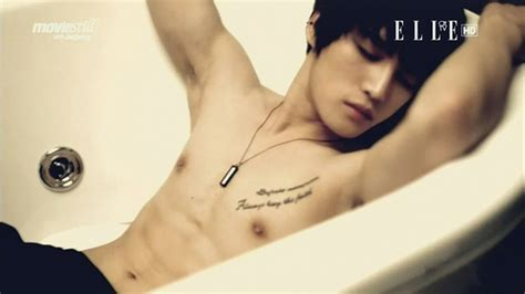 jaejoong tattoo chest tattoo on your chest pain in my heart flickr photo