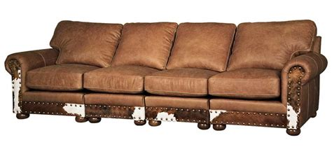 western style 4 cushion sofa western sofas and loveseats