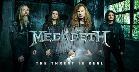 The Threat here s a new megadeth track quot the threat is real quot
