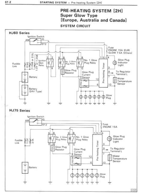 HJ60 Pre-Heating System Wiring Diagram | IH8MUD Forum