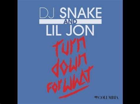 dj snake mp kbps dj snake lil jon turn down for what 320 kbps youtube