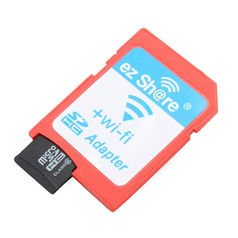 memory card with wifi ezshare wifi wireless micro sd adapter with ld 8gb class