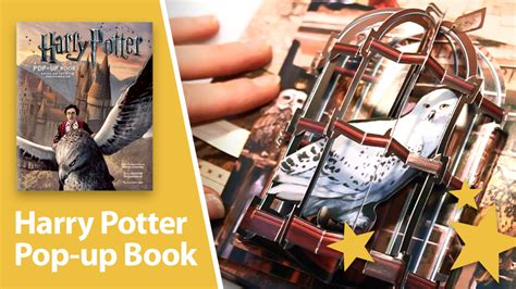 harry potter a pop up 1608870081 harry potter a pop up book amazing 3d pop ups best pop up books